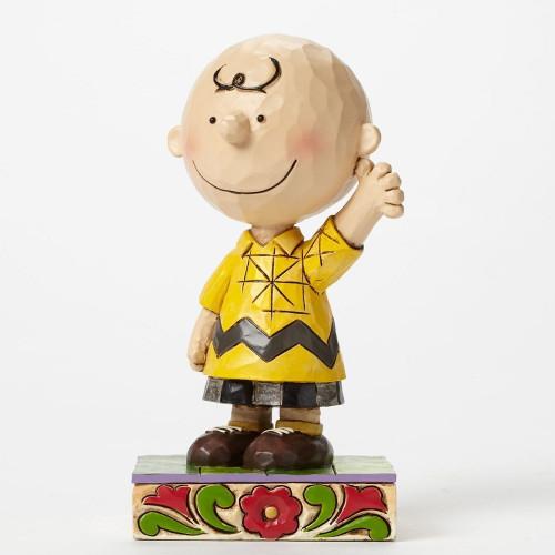 "Jim Shore- Peanuts - ""Good Man Charlie Brown"" Charlie Brown"