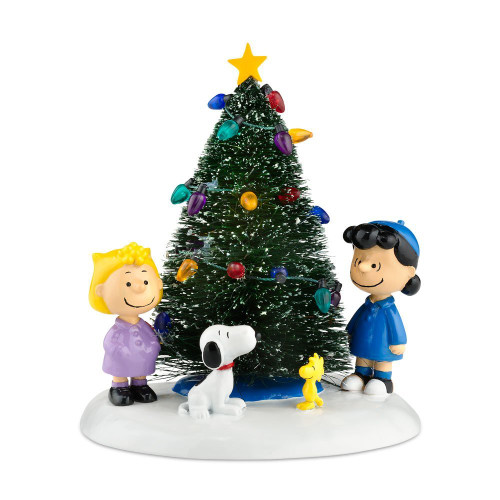 Department 56 - Peanuts Village - O' Christmas Tree
