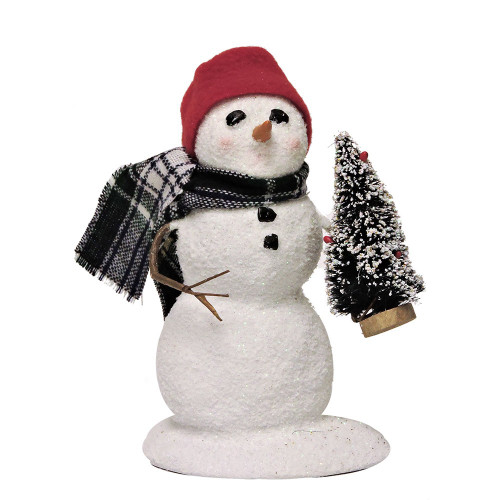 2016 - Byers Choice Snowman with Tree