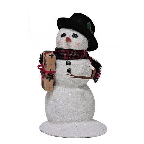 2016 Byers Choice - Snowman with Package