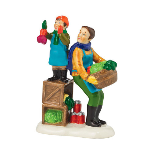 Department 56 - Original Snow Village Accessory - Winter Fun at the Market