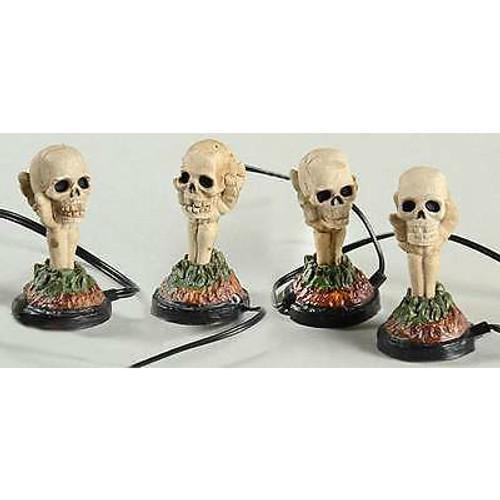 Department 56 - Halloween Village - Boneyard Luminaries