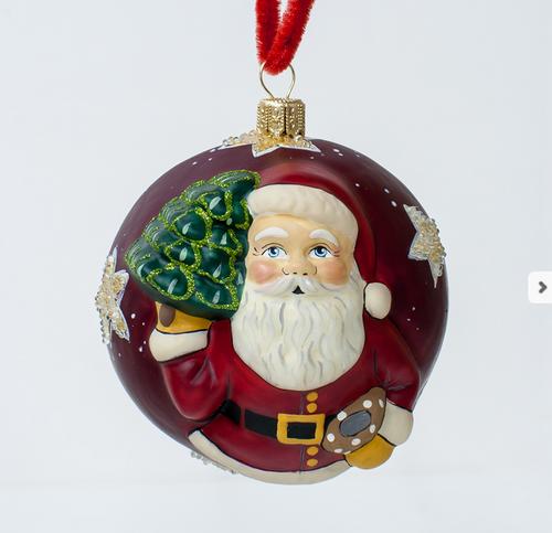 "Vialliancourt ""Jingle Ball"" Red American Starlight Santa"