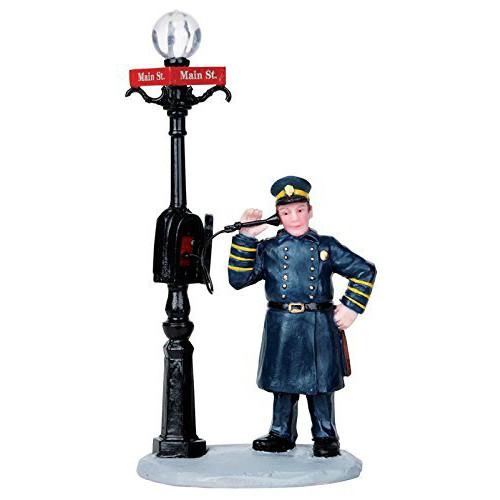 Lemax - Policeman at Callbox
