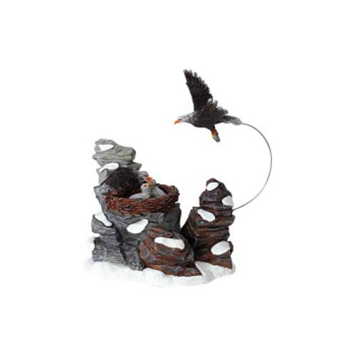 Lemax- Eagle Feeding