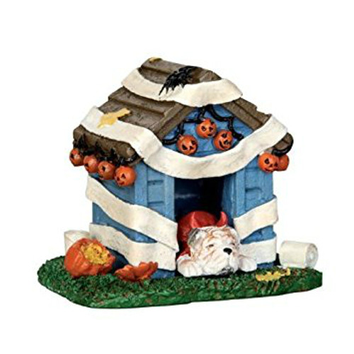 Lemax- Halloween Tricked Out Doghouse