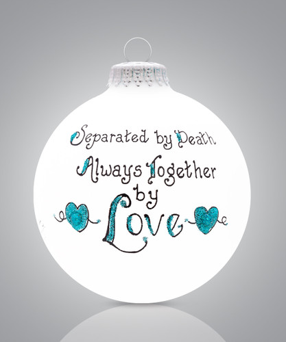 Always Together Ornament- Heart Gifts by Teresa- USA Made
