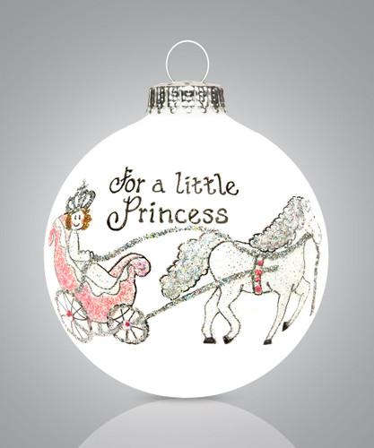 Little Princess Ornament- Heart Gifts by Teresa- USA Made