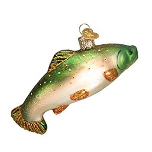 Old World Christmas - Brook Trout Ornament