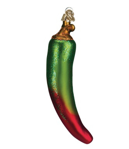 Old World Christmas - Green Chili Pepper Ornament