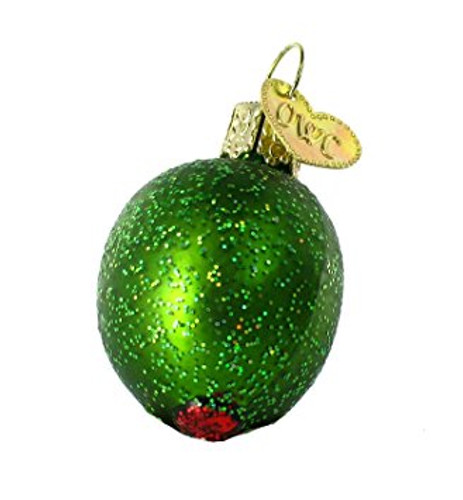 Old World Christmas - Stuffed Green Olive Ornament