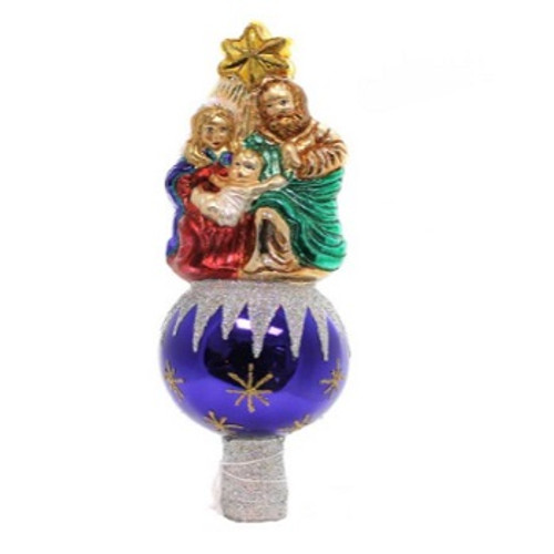 Old World Christmas - Nativity Finial Tree Topper