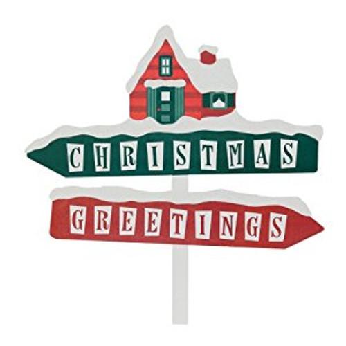 Snow Babies- Christmas Greetings Sign
