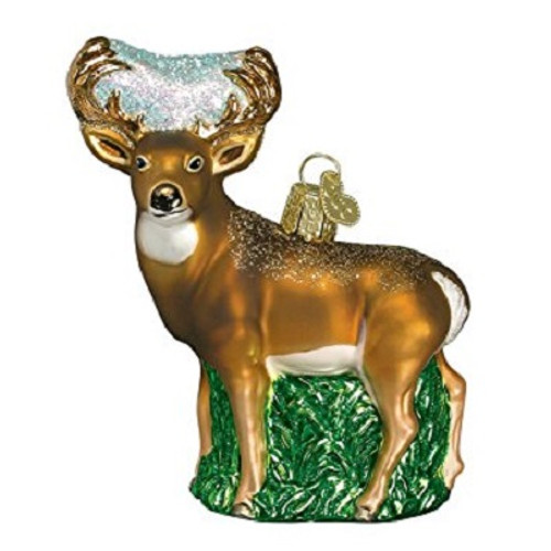 Old World Christmas- Whitetail Deer Ornament