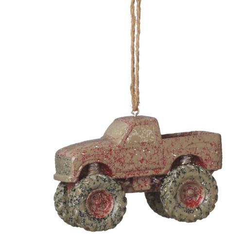 Mudder Truck Ornament