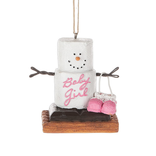 S'mores Baby Girl  Ornament