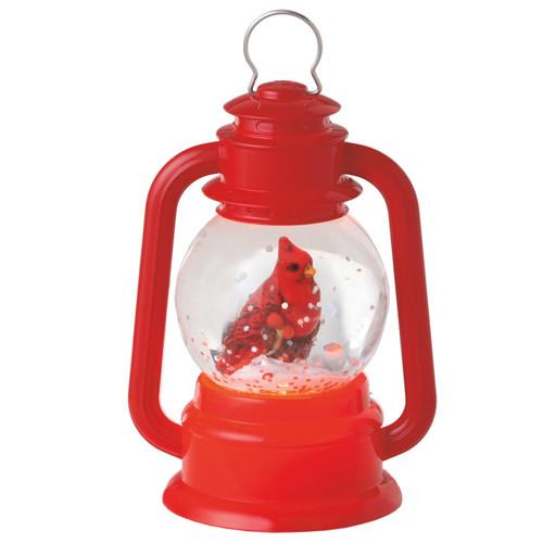 Mini Cardinal Lantern Shimmer