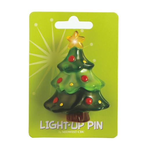 Tree Light Up Pin