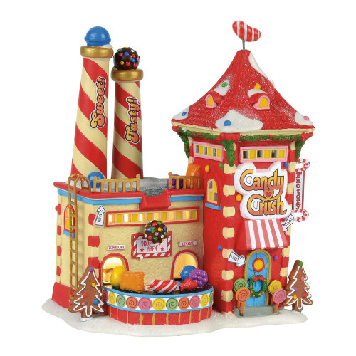 *2017* Department 56 - North Pole Series - Candy Crush Factory