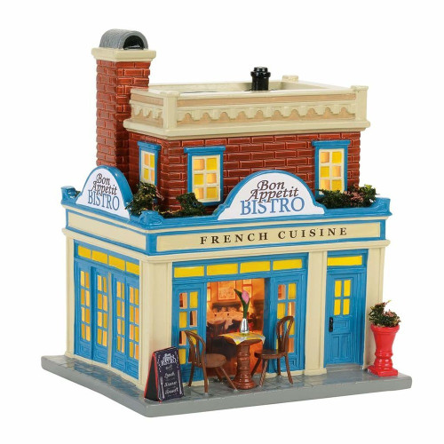 *2017*  Department 56 - Snow Village - Bon Appetit Bistro