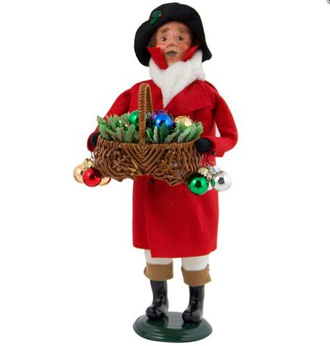 2017 Byers Choice - Ornament Man Vendor