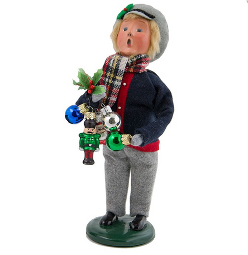 2017 Byers Choice - Ornament Boy