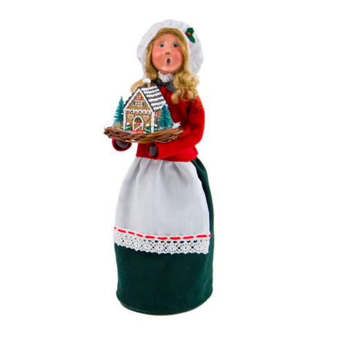 2017 Byers Choice - Woman with Gingerbread
