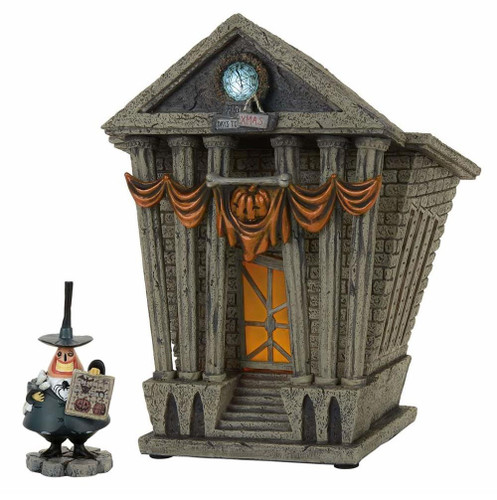 *2017* Department 56 - Nightmare Before Christmas Village - City Hall Set of 2