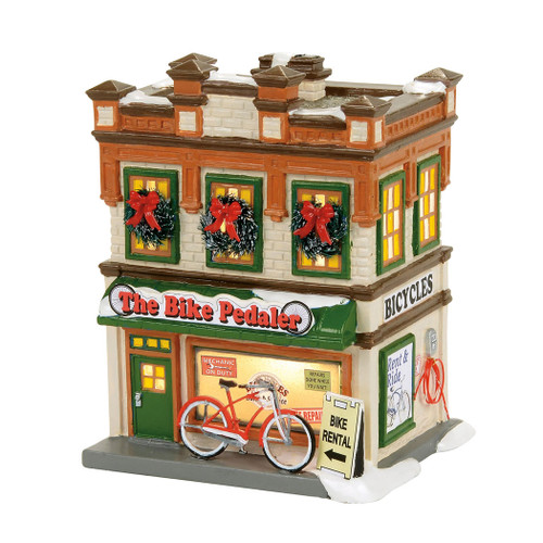 *2017* Department 56 - Original Snow Village - The Bike Pedaler