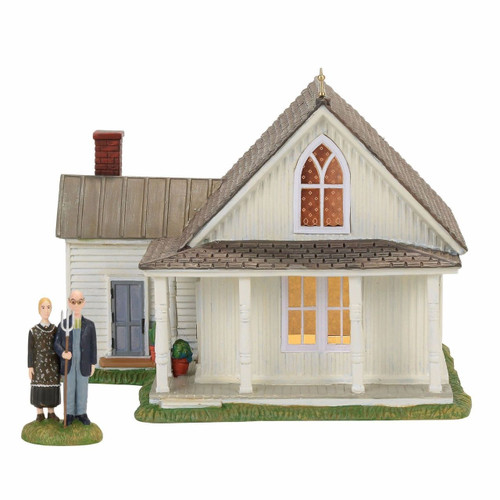 *2017* Department 56 - New England Village - American Gothic Set of 2