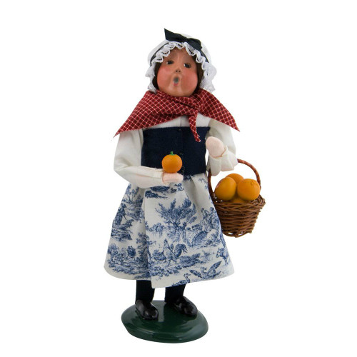 2017 Byers Choice - Crier of London Girl With Oranges