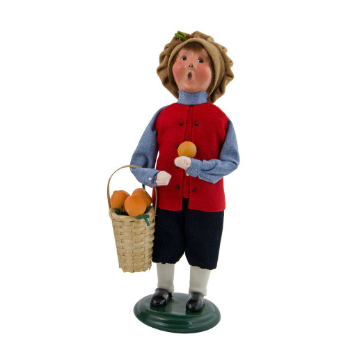 2017 Byers Choice - Crier of London Boy With Oranges