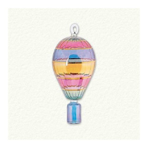 Egyptian Glass Small Hot Air Balloon