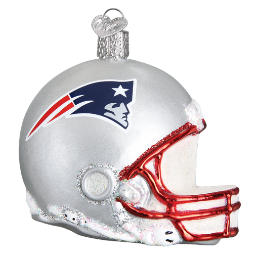 Old World Christmas - New England Patriots Helmet Ornament
