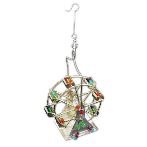 Pilgrim Imports - Handcrafted, Fair Trade,  Metal Ferris Wheel Ornament