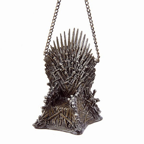 *2017* 'Game of Thrones' Sword Throne Ornament