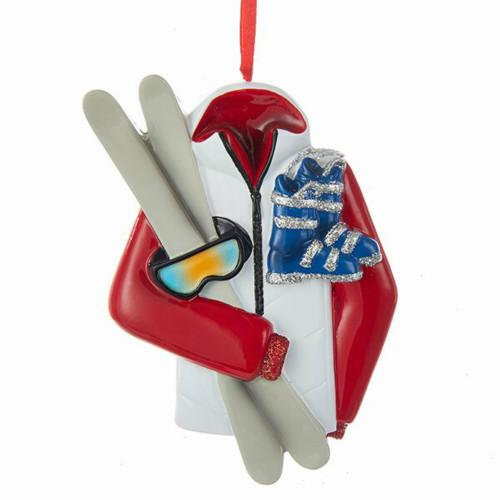 Free Personalization* Ski Jacket Ornament