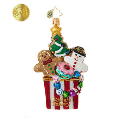Christopher Radko - Christmas Cookie Comfort Ornament