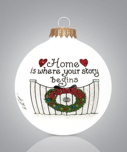 New Home Housewarming Ornament by Heart Gifts by Teresa
