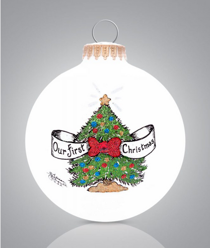 First Christmas Ornament - Heart Gifts by Teresa