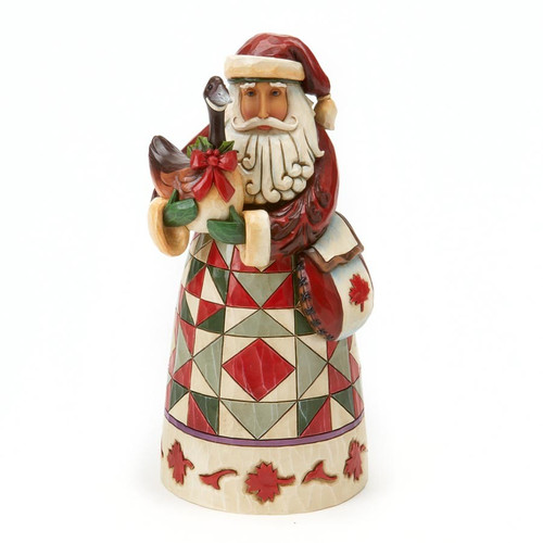Jim Shore Heartwood Creek - Canadian Santa