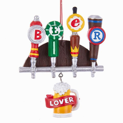 Beer Taps with Dangler Ornament