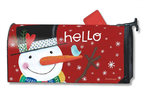 *New for 2017* Winter Happiness Mail Box Cover