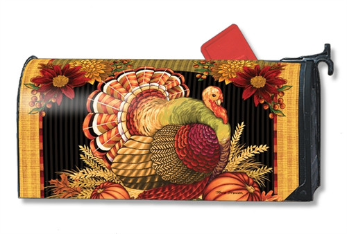 *New for 2017* Thankful Turkey Mail Box Cover