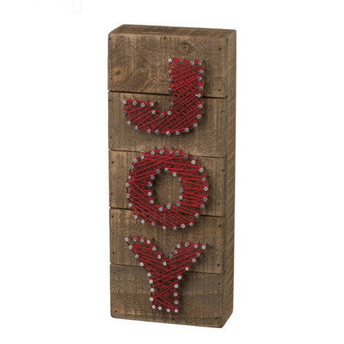 Joy String Art Sign
