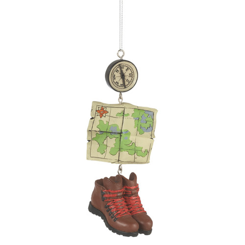 Hiking Boots and Maps