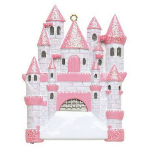 Free Personalization - Castle Ornament