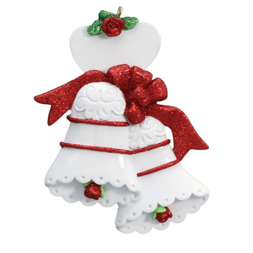 Free Personalization - Anniversary Bells Ornament