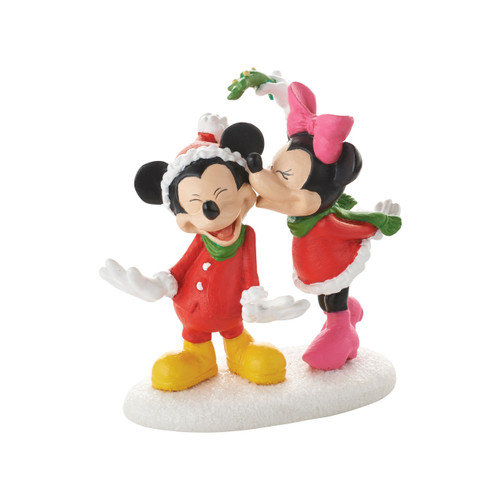 Department 56- Mickey Village - Mickeys' Christmas Kiss Accessory