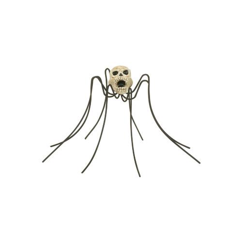 Department 56-  Halloween Village Accessory-Skull Spider